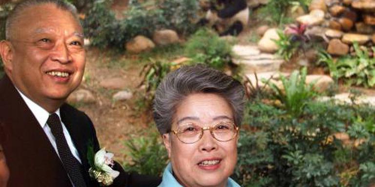 Oudste reuzenpanda ingeslapen in Hong Kong