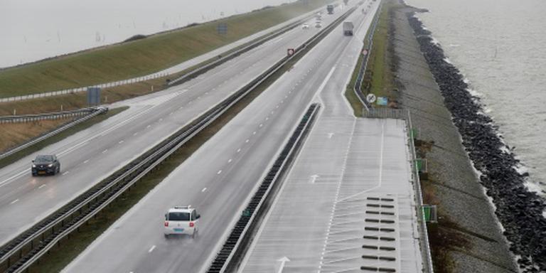 Verkeer op Afsluitdijk rijdt weer