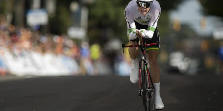 Dennis Australisch kampioen tijdrijden