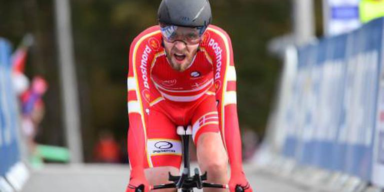 Toft Madsen mist record Wiggins op 896 meter
