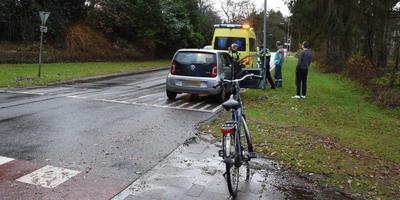 Ongeluk op Laan van de Marel in Emmen.