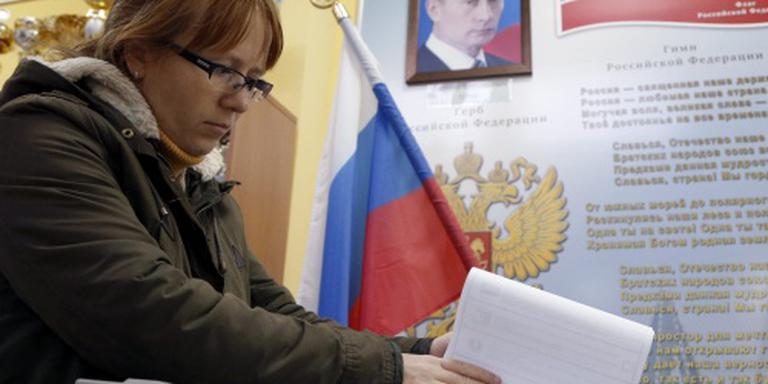 Partij van Poetin klimt naar 51 procent