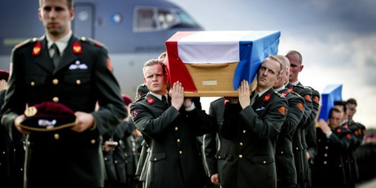 Lichamen omgekomen militairen in Nederland