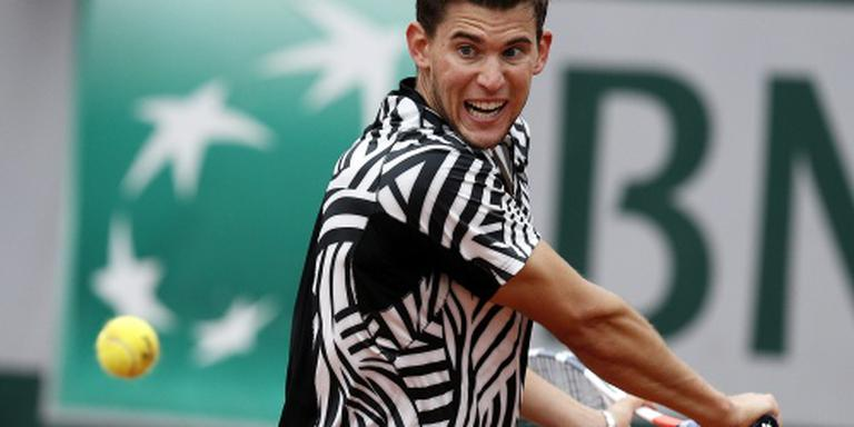 Thiem naar halve finales Roland Garros