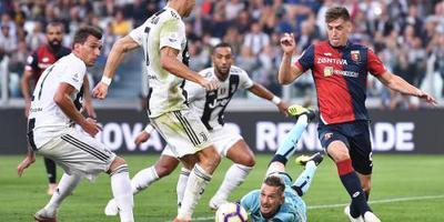 Juventus verspeelt tegen Genoa eerste punten