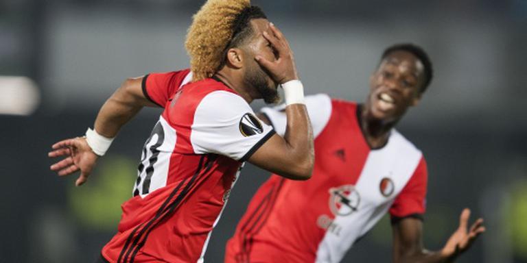 Feyenoord verslaat Manchester United met 1-0