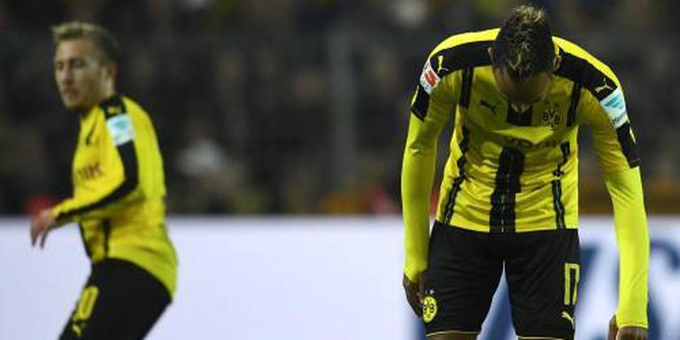 Aubameyang voorkomt nederlaag Dortmund