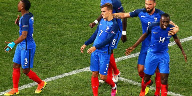 Frankrijk compleet op laatste training