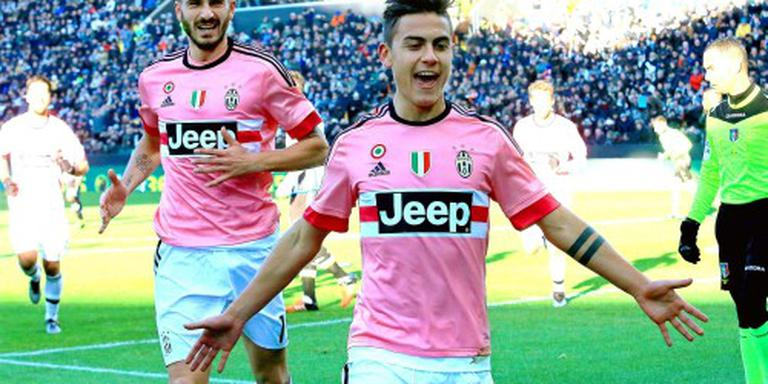 Juventus blijft in spoor Napoli