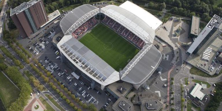 Huldiging FC Utrecht bij winst voor stadion