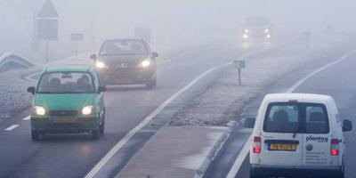 KNMI: code geel vanwege dichte mist in groot deel van het land