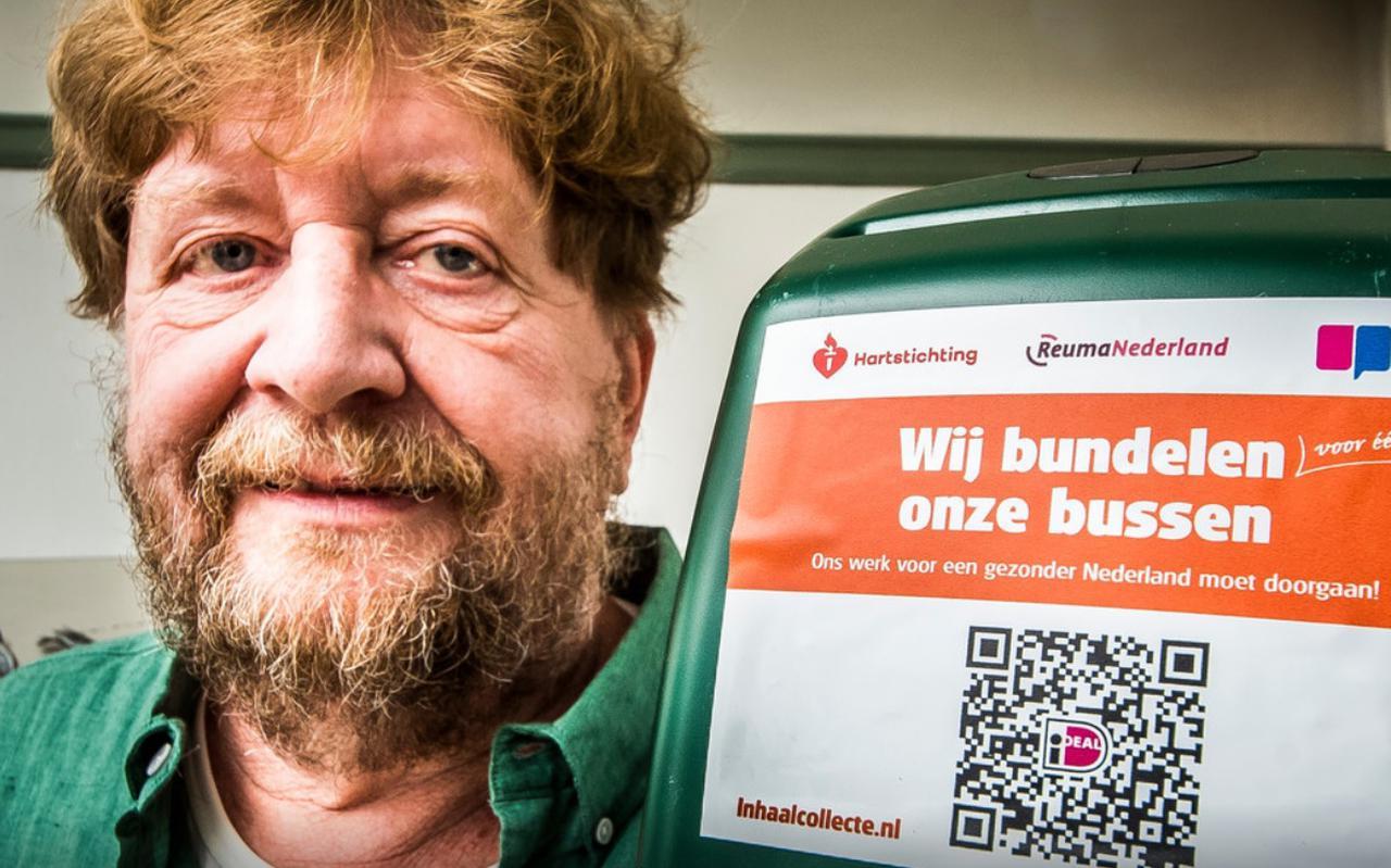 Henk Kippers is één van de mensen die in Hengelo namens de Hartstichting, Longfonds en ReumaNederland langs de deuren gaat komende herfstvakantie.