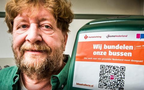 Hartstichting, het Longfonds en ReumaNederland trekken met één collectebus langs de deuren: Dit mag gerust een unieke actie worden genoemd'