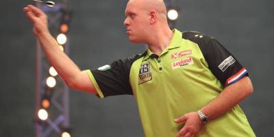 Darter Van Gerwen naar kwartfinale