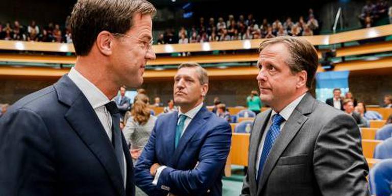 'Volgend kabinet sowieso met VVD, CDA en D66'