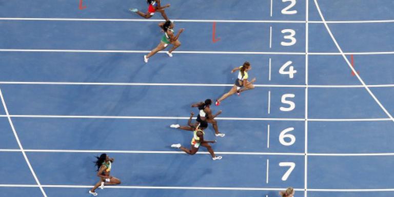Schippers snelt naar halve finales 100 meter
