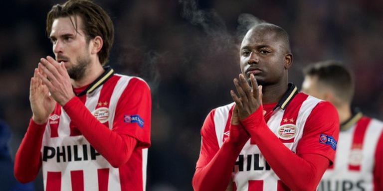 PSV met Willems, zonder Poulsen