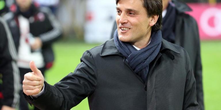 Montella trainer bij AC Milan