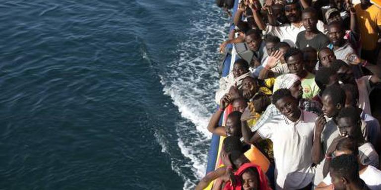 2400 bootvluchtelingen gered op zaterdag