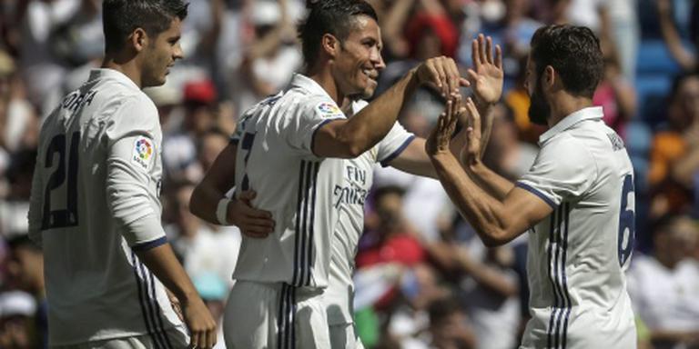 Ronaldo scoort bij rentree