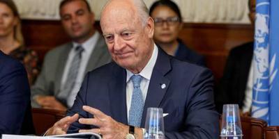De Mistura stopt als VN-afgezant Syrië