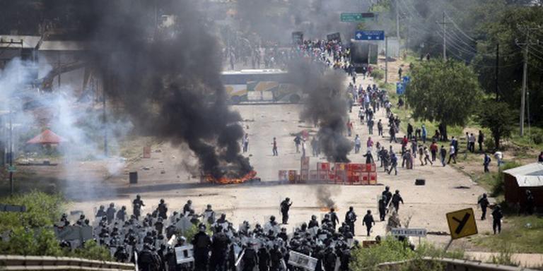 Doden bij lerarenprotest in Mexico