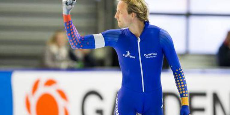 Ronald Mulder wint 500 meter in Groningen