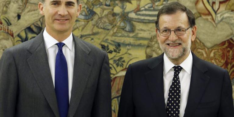 Rajoy kan geen kabinet vormen