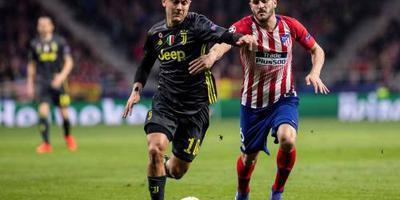 Atlético duwt Juventus richting uitschakeling