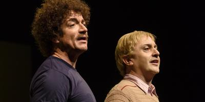 Links Paul de Groot, rechts Jeremy Baker