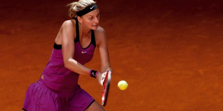 Kvitova opent Roland Garros