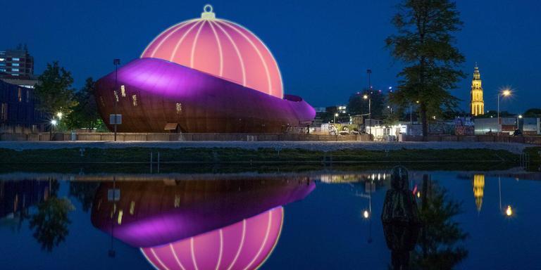 Grootste kerstbal van de wereld (19 meter hoog!) komt in Groningen ...