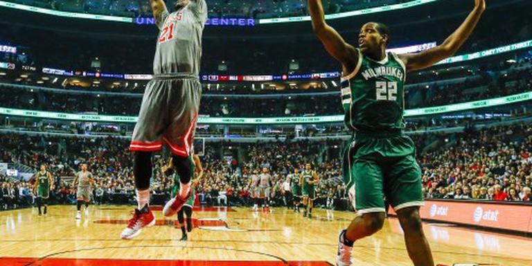 Butler opnieuw trefzeker voor Bulls