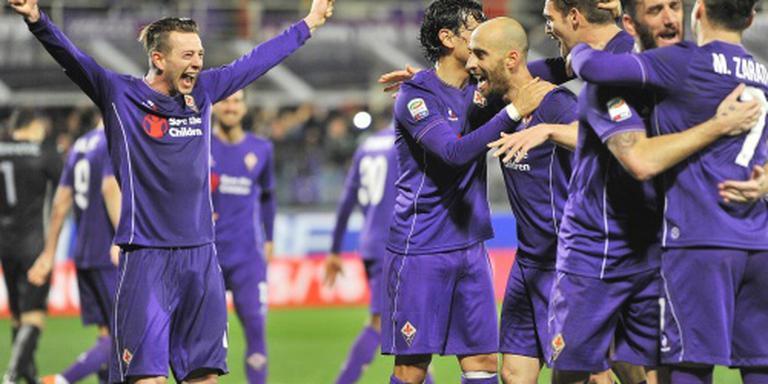 Fiorentina klopt Inter in jacht op Juve