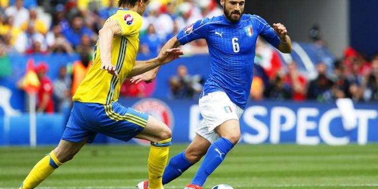 Italiaan Candreva kampt met dijbeenblessure