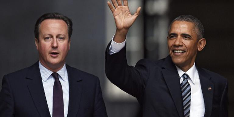 Obama: na 'Brexit' in rij voor handelsverdrag