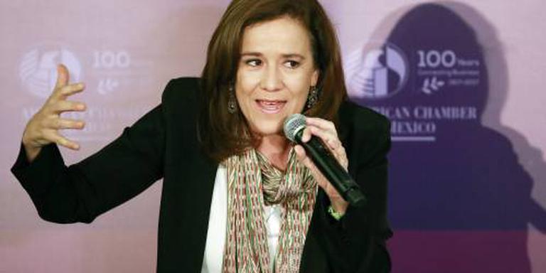 Zavala ziet af van Mexicaans presidentschap