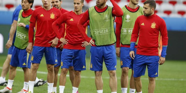 Spanje met tweede zege verder op EK