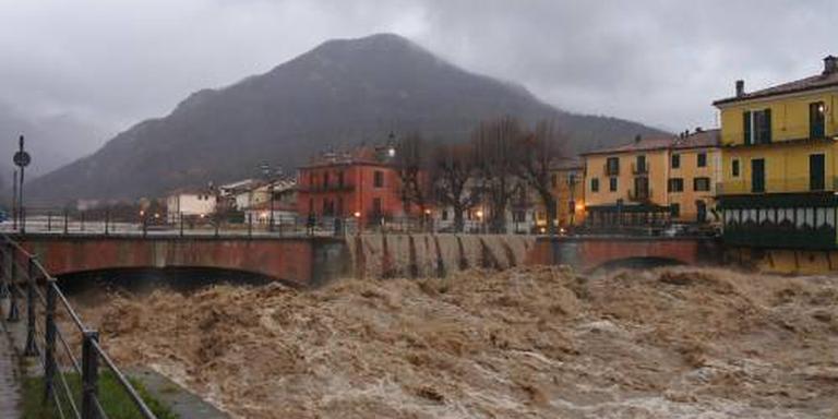 Noordwest-Italië geteisterd door hevige regen