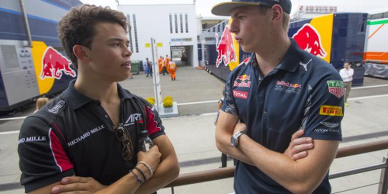 De Vries viert eerste overwinning op Monza