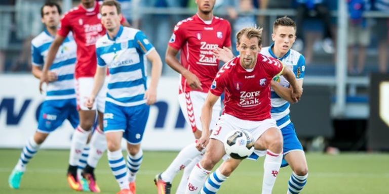 Haller schiet FC Utrecht naast PEC Zwolle