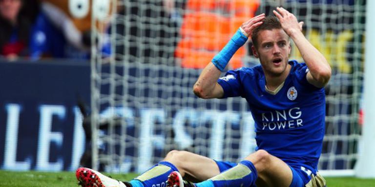 Vardy mist kampioenswedstrijd Leicester
