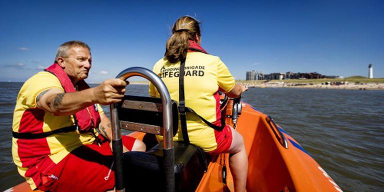 Reanimatie na afloop Lifeguard Day in Egmond