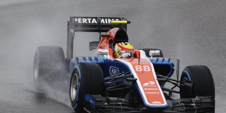 F1-team Manor zet Haryanto terug