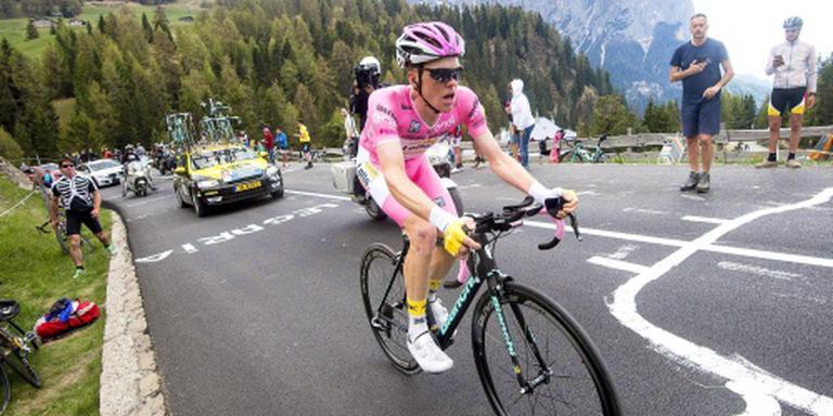Veel kijkers voor Kruijswijk in Giro