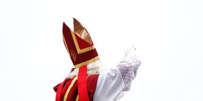 Sinterklaas aangekomen in Amsterdam