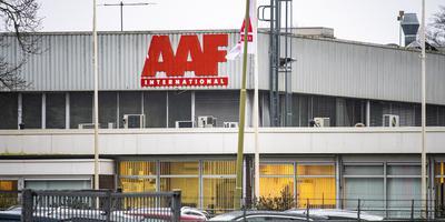 AAF International in Emmen, waar werknemers jarenlang zijn blootgesteld aan een kankerverwekkende stof. Foto: Marcel Jurian de Jong