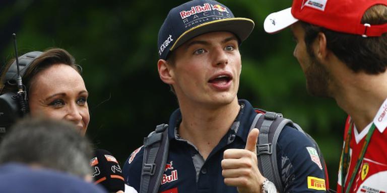 Verstappen vierde in kwalificatie Singapore