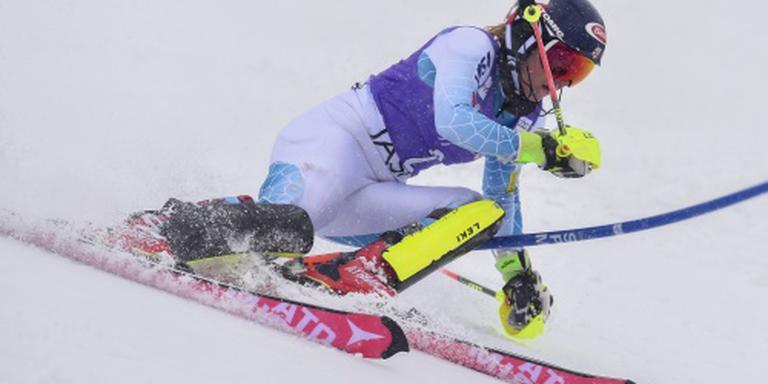 Skiester Shiffrin wint slalom