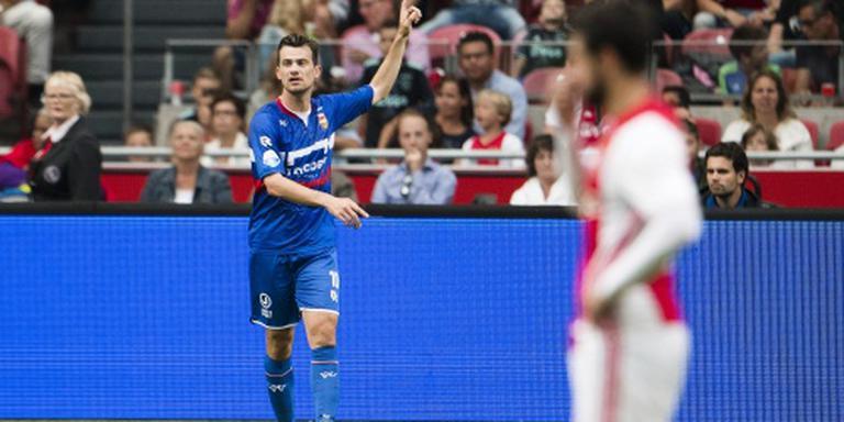 Ajax weer tegen Willem II